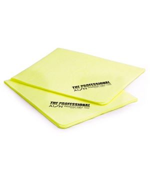 Водопоглощающие салфетки AION Professional Chamois, 2 шт., 43х33см (желтые)