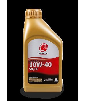 Масло моторное IDEMITSU 10W-40 SN/CF, 1л