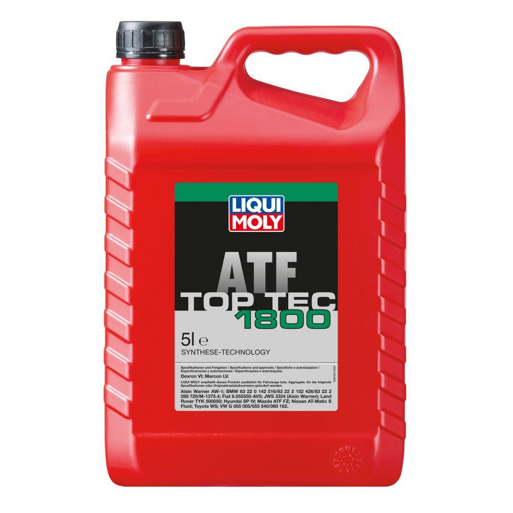 Трансмиссионное масло для LIQUI MOLY АКПП НС Top Tec ATF 1800, 5л