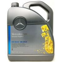 Моторное масло Mercedes-Benz MB 229.5 5W-40, 5л
