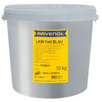 Смазка RAVENOL LKW Fett Blau (10кг)