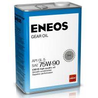 Трансмиссионное масло ENEOS GL-5 75W-90, 4л.