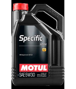 Моторное масло MOTUL Specific 229.52 5W-30, 5л