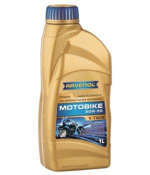 Моторное масло RAVENOL Motobike V-Twin SAE 20W-50 Fullsynth (1л) new