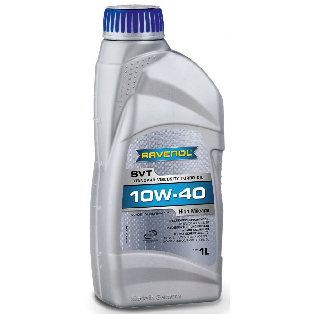 Моторное масло RAVENOL SVT Stand.Viscosity Turbo Oil SAE 10W-40 ( 1л) new