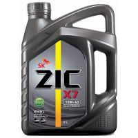 Моторное масло ZIC X7 Diesel 10W-40, 6л.