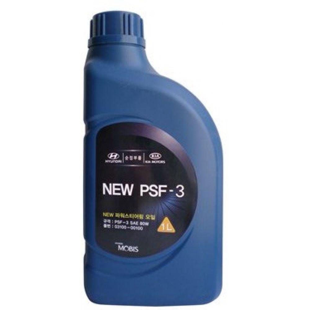 Жидкость для ГУР Hyundai/Kia New PSF-3 SAE 80W (красная), 1л