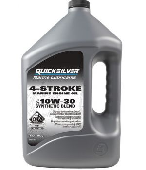 Моторное масло Quicksilver 4-Stroke Marine Engine Oil 10W-30, 3.78л
