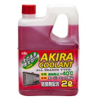 Антифриз Akira Coolant -40°C красный, 2л