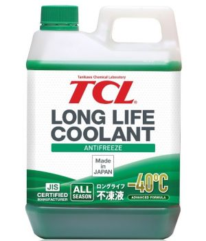 Антифриз TCL Long Life Coolant GREEN -40°C, 2л