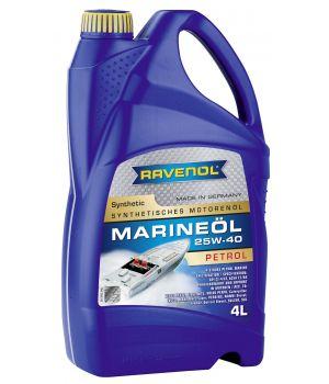 Моторное масло RAVENOL Marineoil PETROL 25W40 synthetic (4л) new