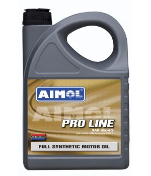 Моторное масло AIMOL Pro Line 5W-40, 4л
