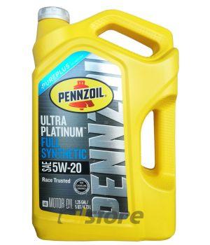 Моторное масло PENNZOIL Ultra Platinum SAE 5W-20, 4,73л