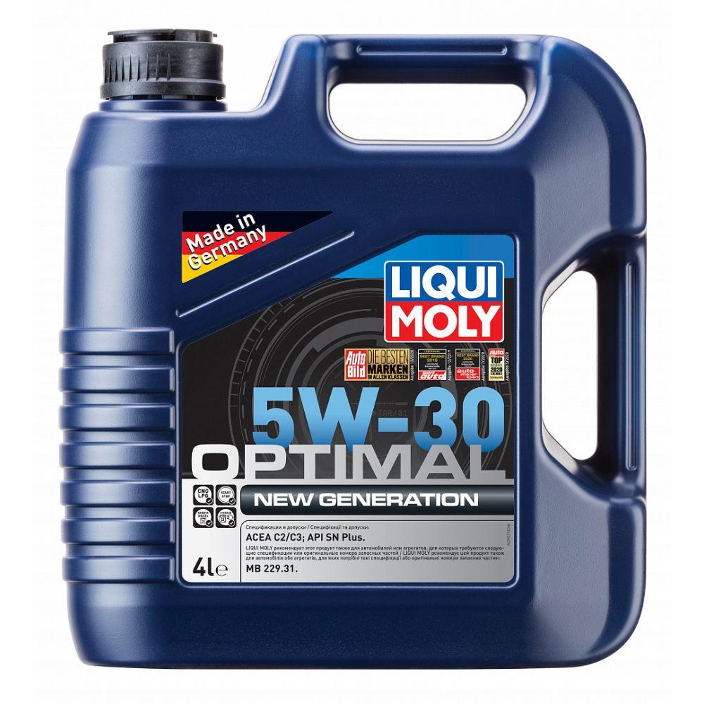 Моторное масло LIQUI MOLY НС Optimal New Generation 5W-30, 4л