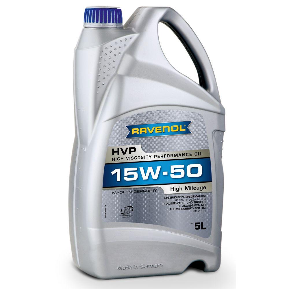 Моторное масло RAVENOL HVP High Viscosity Perfor. Oil SAE15W-50 ( 5л) new