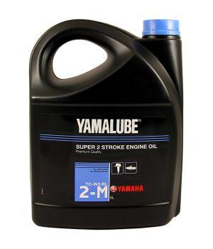 Моторное масло YAMAHA Yamalube 2-M TC-W3 RL Marine Mineral Oil, 5л