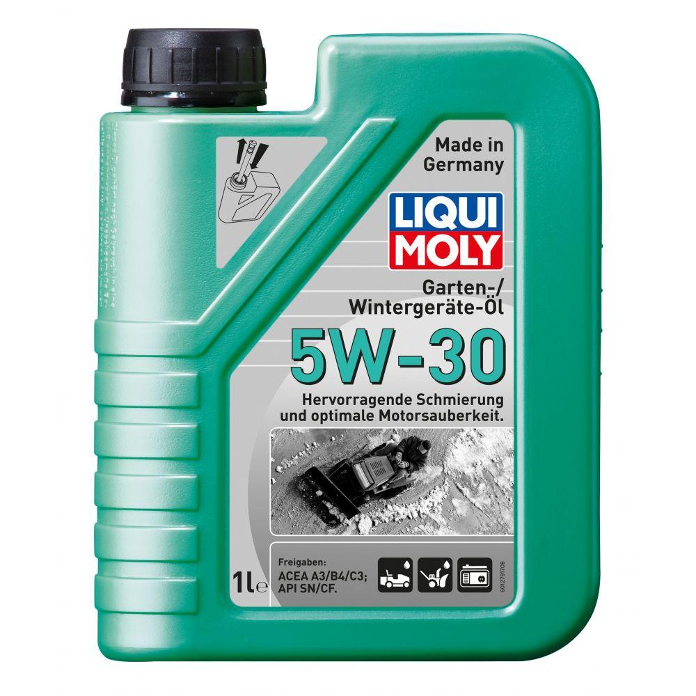 Моторное масло для зимней садовой техники LIQUI MOLY НС Garten-Wintergerate-Oil 5W-30, 1л