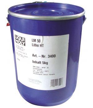 Высокотемпературная смазка для ступиц подшипников LIQUI MOLY LM 50 Litho HT, 5кг