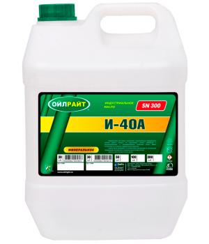 Индустриальное масло OILRIGHT И-40А, 20л