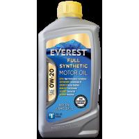 Моторное масло Everest FULL-SYN 0W-20. 1л