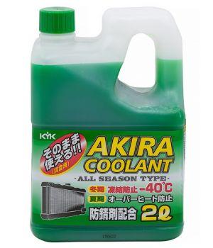 Антифриз AKIRA Coolant -40°C зеленый, 2л