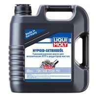 Трансмиссионное масло LIQUI MOLY Hypoid-Getriebeoil TDL 75W-90, 4л