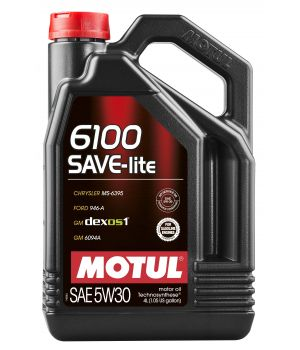 Моторное масло MOTUL 6100 SAVE-LITE 5W-30, 4л