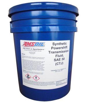 Трансмиссионное масло AMSOIL Synthetic Powershift Transmission Fluid SAE 30, 18.9л