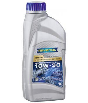Трансмиссионное масло RAVENOL Motogear SAE 10W-30 GL-4 (1л) new