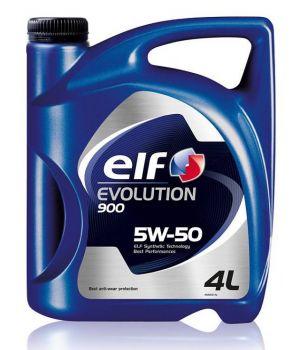 Моторное масло ELF Evolution 900 5W-50, 4л