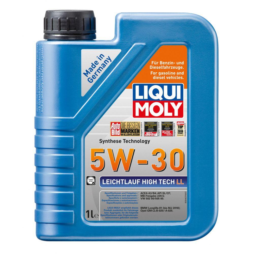 Моторное масло LIQUI MOLY НС Leichtlauf High Tech LL 5W-30, 1л