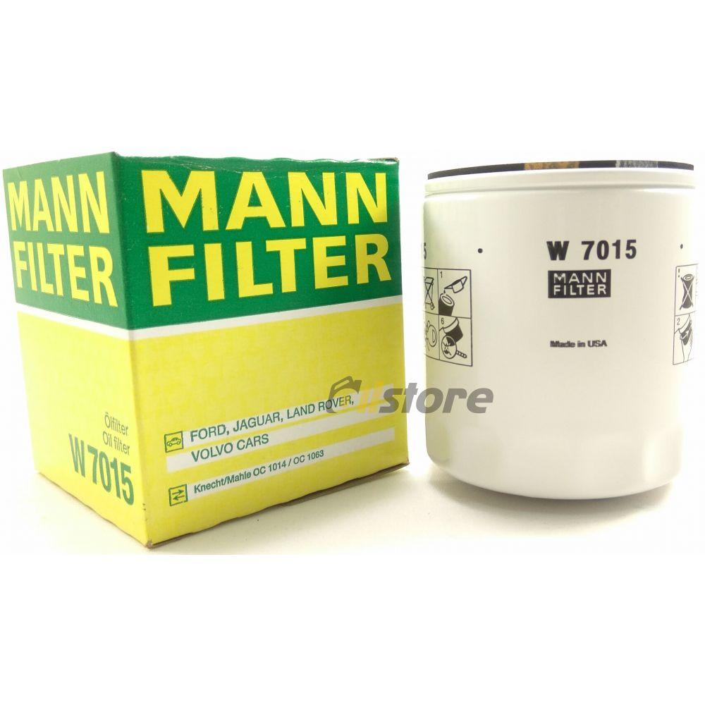 Масляный фильтр MANN-FILTER W 7015