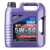 Моторное масло LIQUI MOLY Synthoil High Tech 5W-50, 4л