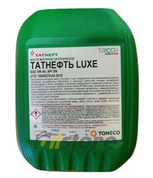 Моторное масло Татнефть LUXE SN/SM 5W-40, 10л