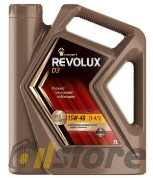 Моторное масло Роснефть Revolux D3 15W-40, 5л