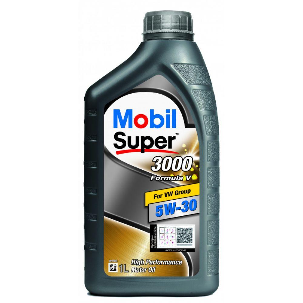 Моторное масло Mobil Super 3000 Formula V 5W-30, 1л
