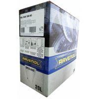 Моторное масло RAVENOL Super Synthetik Oel SSL SAE 0W-40, 20л ecobox