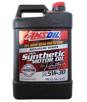 Моторное масло AMSOIL Signature Series Synthetic Motor Oil 5W-30, 3.78л