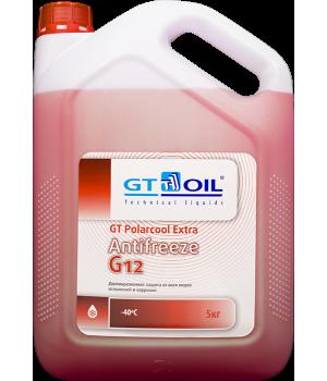 Антифриз готовый GT PolarCool Extra G12 красный, 5кг