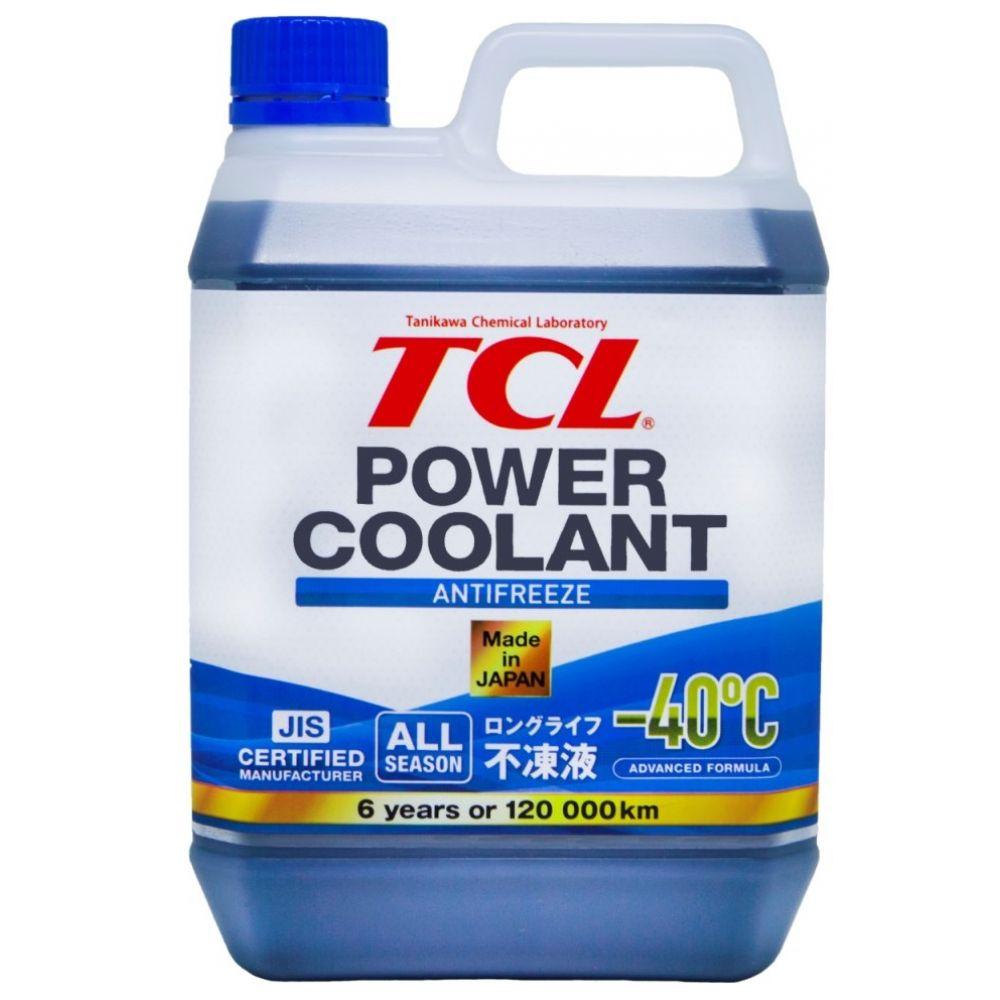 Антифриз TCL Power Coolant BLUE -40°C, 2л