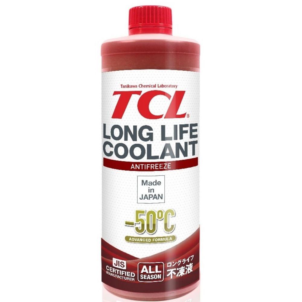 Антифриз TCL Long Life Coolant RED -50°C, 1л