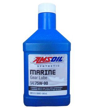 Трансмиссионное масло AMSOIL Synthetic Marine Gear Lube 75W-90, 0.946л