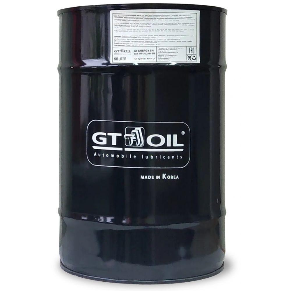 Моторное масло GT OIL GT Energy SN SAE 5W-30, 60л