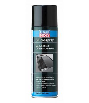 Бесцветная смазка-силикон LIQUI MOLY Silicon-Spray, 0,3л