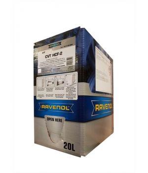Трансмиссионное масло RAVENOL CVT HCF-2 Fluid (20л) ecobox