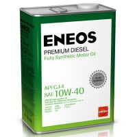 Моторное масло Eneos Premium Diesel 10W-40, 4л