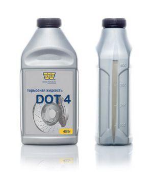 Тормозная жидкость WEGO DOT4, 0.5л