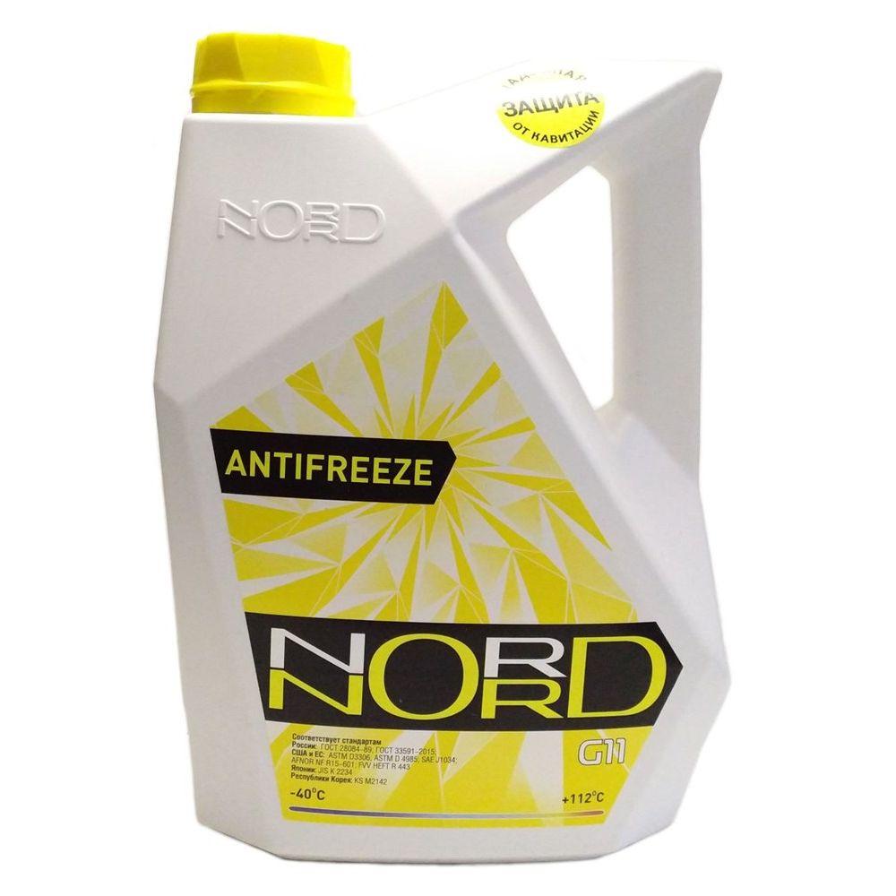 Антифриз готовый NORD желтый, 5кг