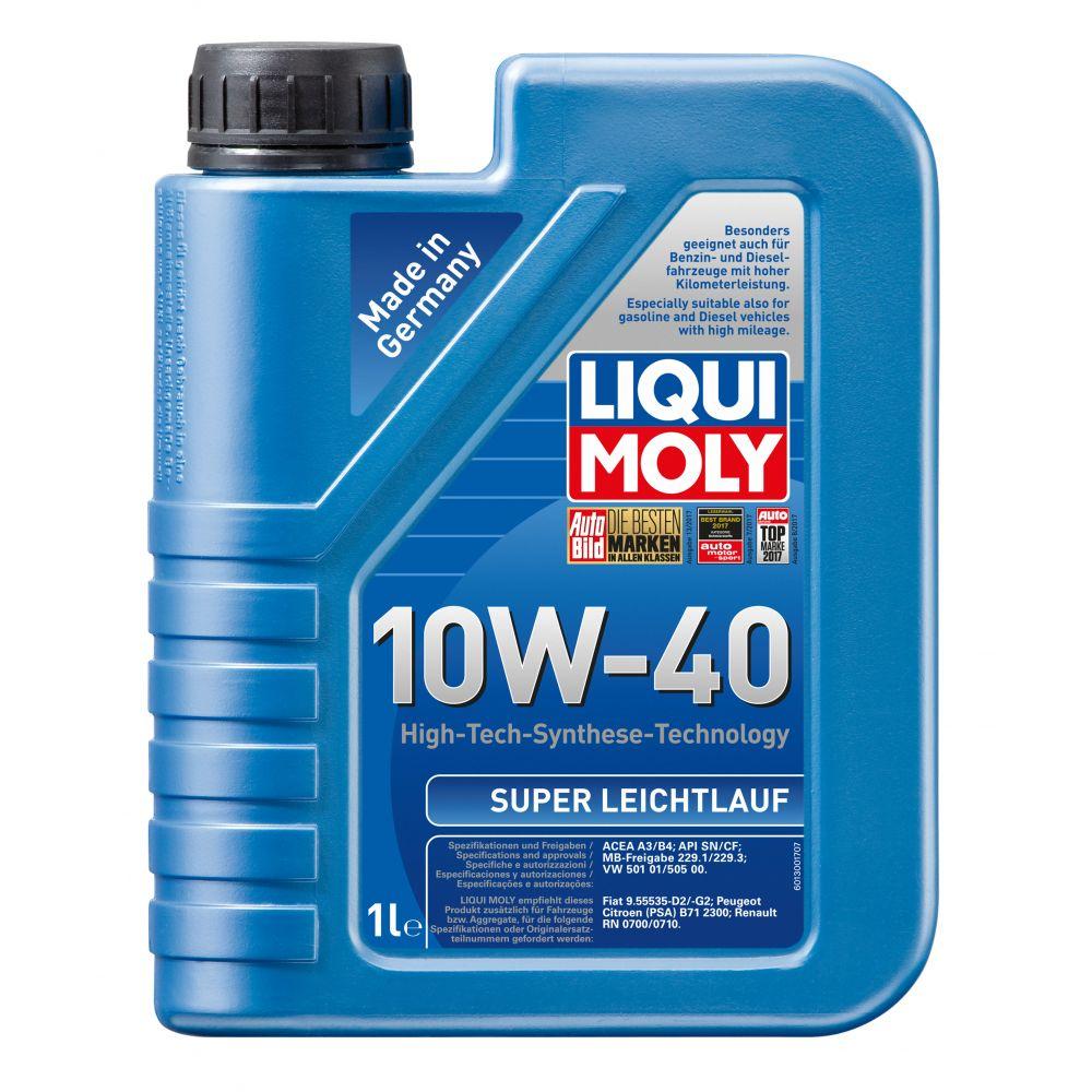 Моторное масло LIQUI MOLY НС Super Leichtlauf 10W-40, 1л