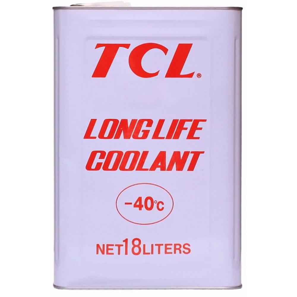 Антифриз TCL Long Life Coolant RED -40°C, 18л